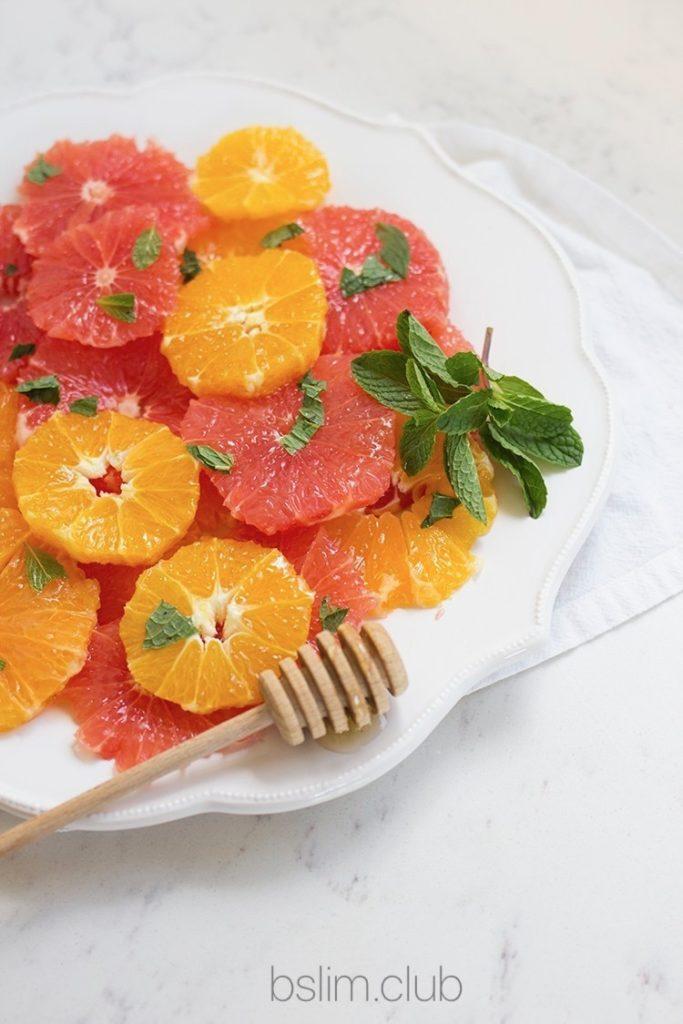 Рецепт салата с грейпфрутом для похудения