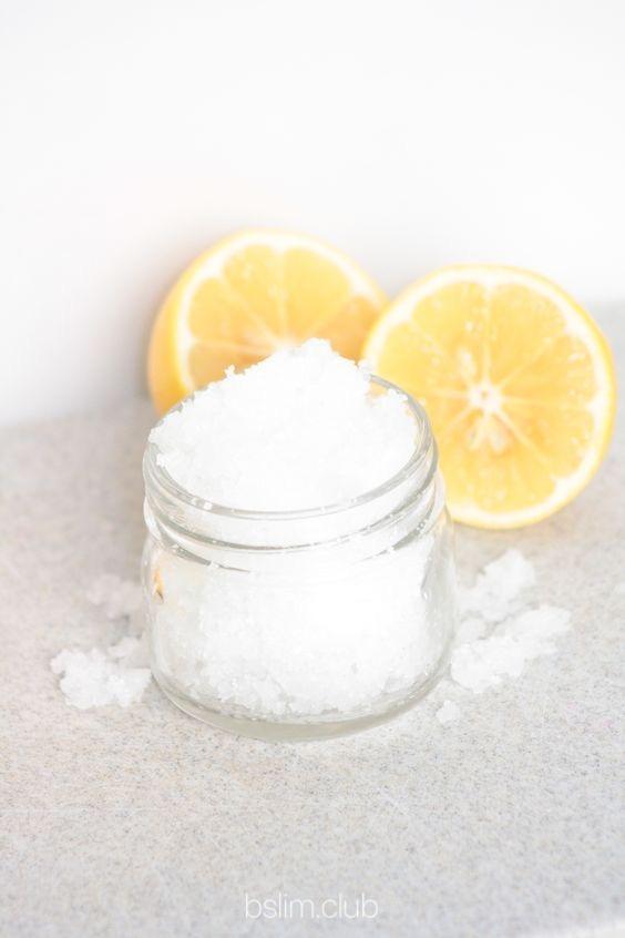 Солевой скраб для тела своими руками на основе апельсина и кокоса