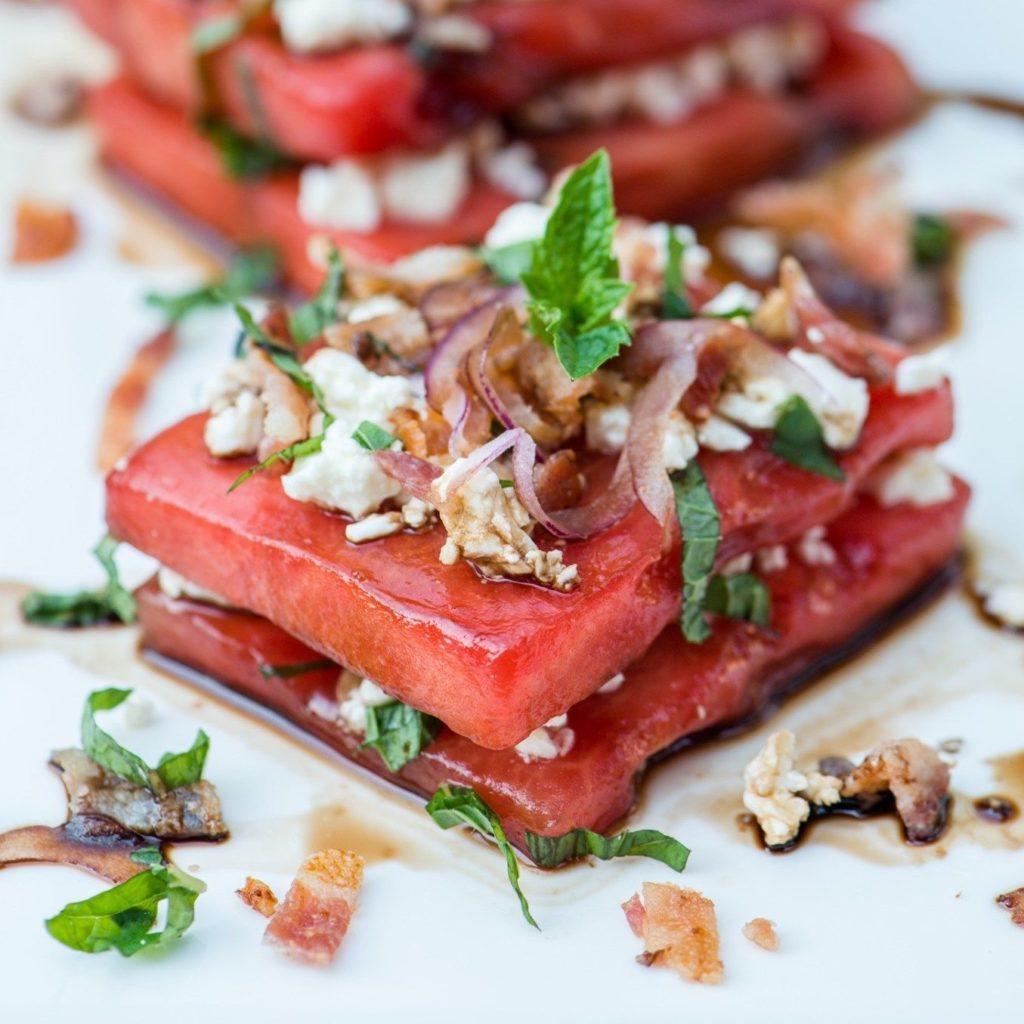 Как похудеть. 5 вкусных рецептов из арбуза.