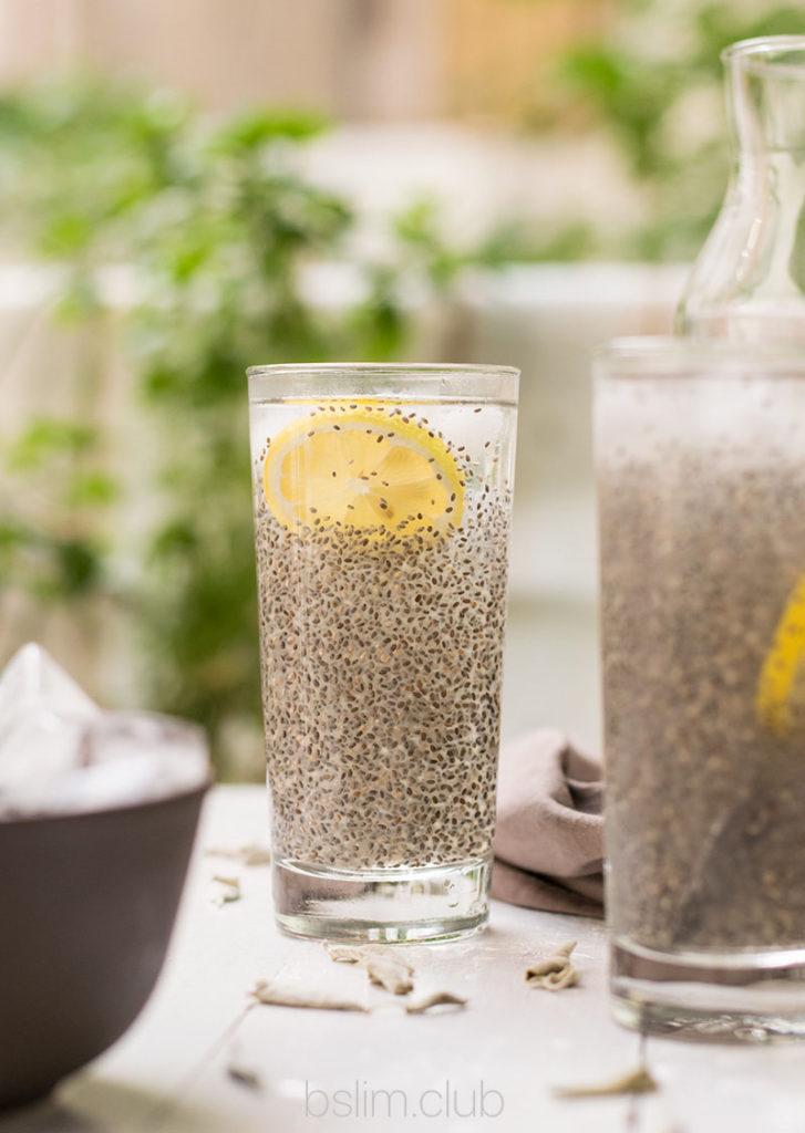 Вода с чиа. Как есть семена чиа.