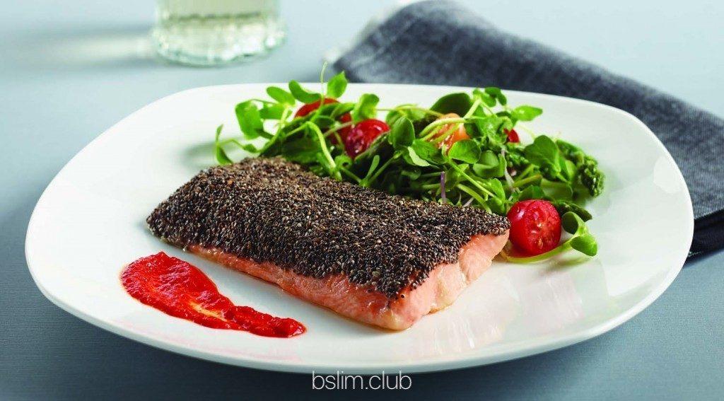 Панировочная крошка для мяса или рыбы из чиа. Как есть семена чиа.