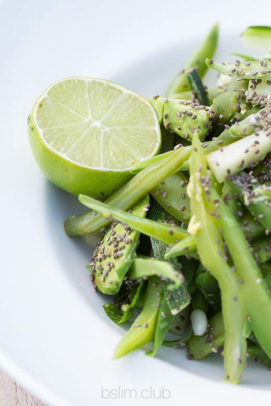 Чиа добавка к салату. Как есть семена чиа.