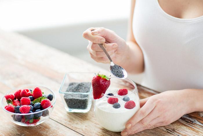 Семена чиа помогают при похудении.