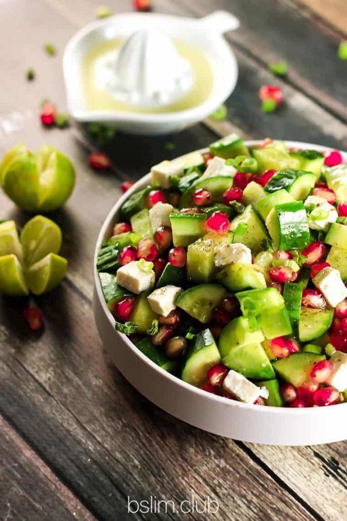 Рецепты при похудении из граната