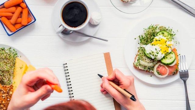 Дневник питания при похудении