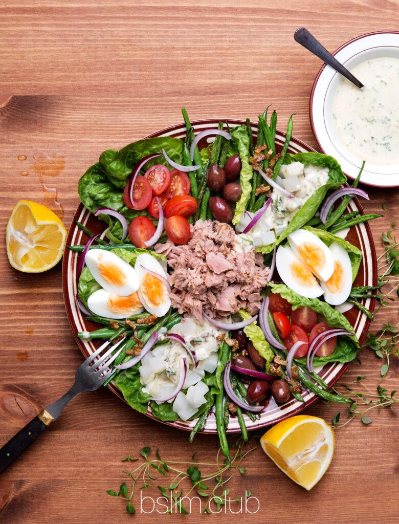 Как похудеть. Рецепт вкусного салата при похудении